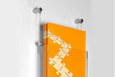 משרדים - מערכת כבלים לקטלוגים