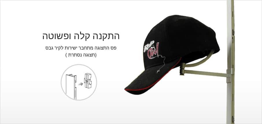 פס דקור - תליית כובעי ריג'נסי